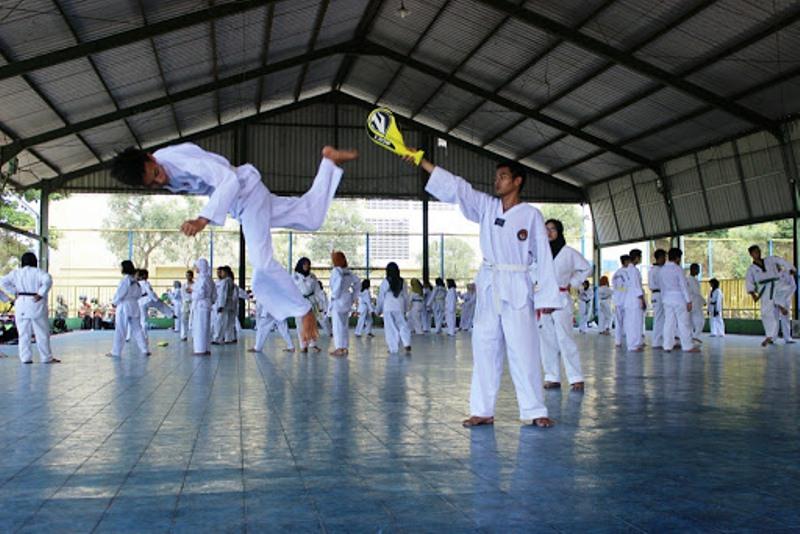 Pengurus Hentikan Latihan Taekwondo Tanjungpinang Antisipasi Covid-19