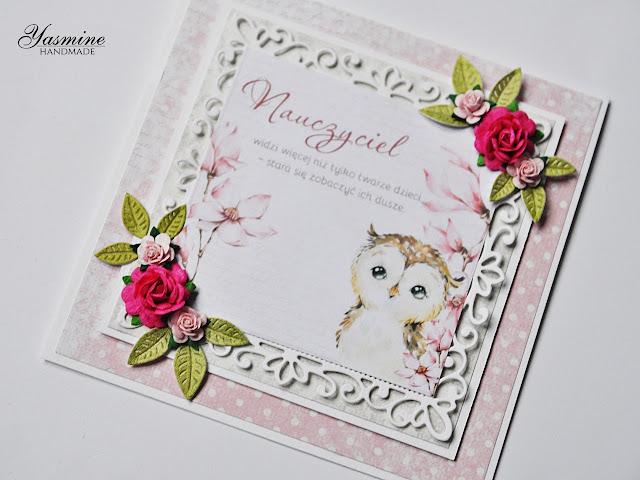 kartka z sową