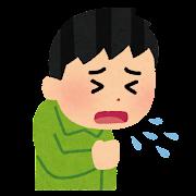 咳・くしゃみのイラスト