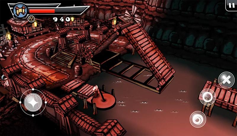 تحميل لعبة ساموراي الأكثر من رائعة Samurai Rise للاندرويد