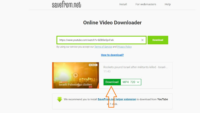 how to save YouTube videos to gallery without any app