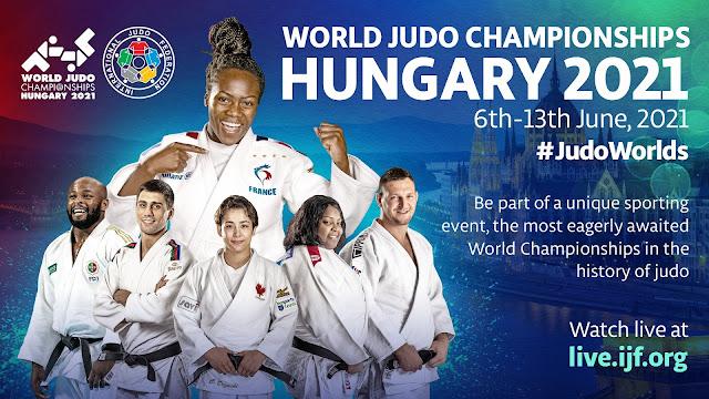 """Mundial de judo 2021 (Budapest, Hungría) - Bronces de Garrigós y Julia Figueroa. Ana Pérez plata y Niko """"Shera"""" campeón del mundo"""