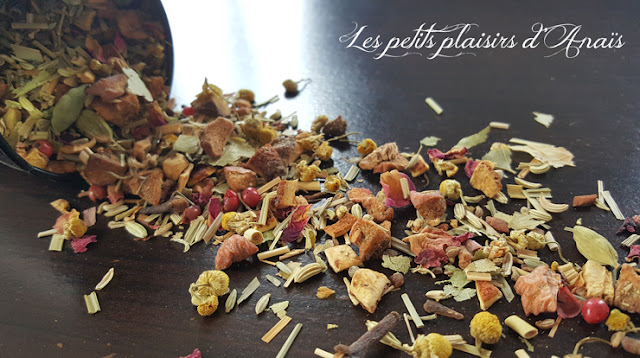 chanomi reveillon tisane infusion plantes nature