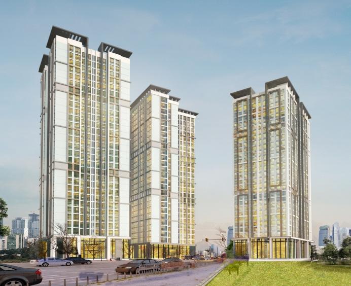 Phối cảnh tổng quan dự án chung cư Panorama - Hoàng Mai