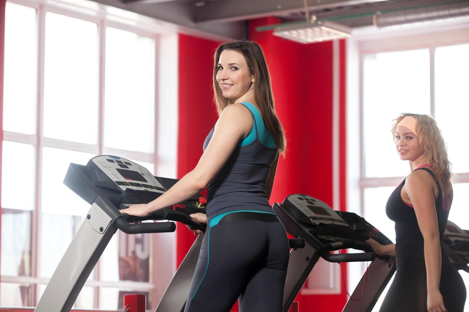 Bbw treadmill