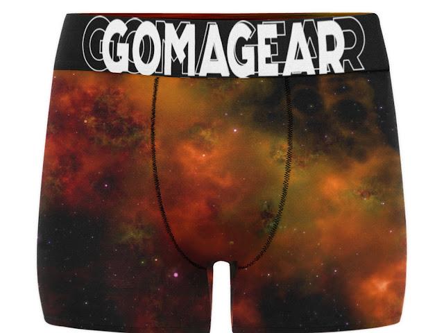 GOMAGEAR BLEACHED MEN BOXER BRIEF