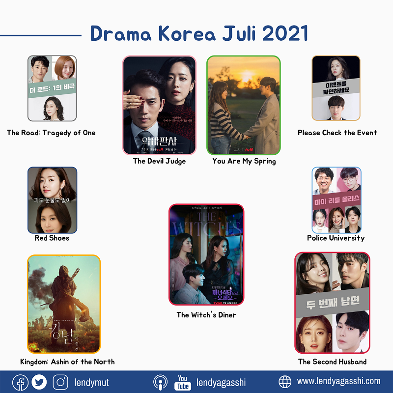 List Drama Korea Juli 2021 Upcoming Drama On July 2021