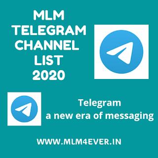 mlm4ever - MLM Telegram Channel Link 2020