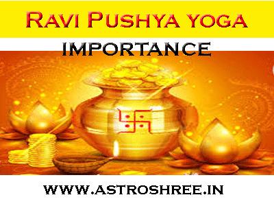 astrologer for pooja on ravi pushya yoga