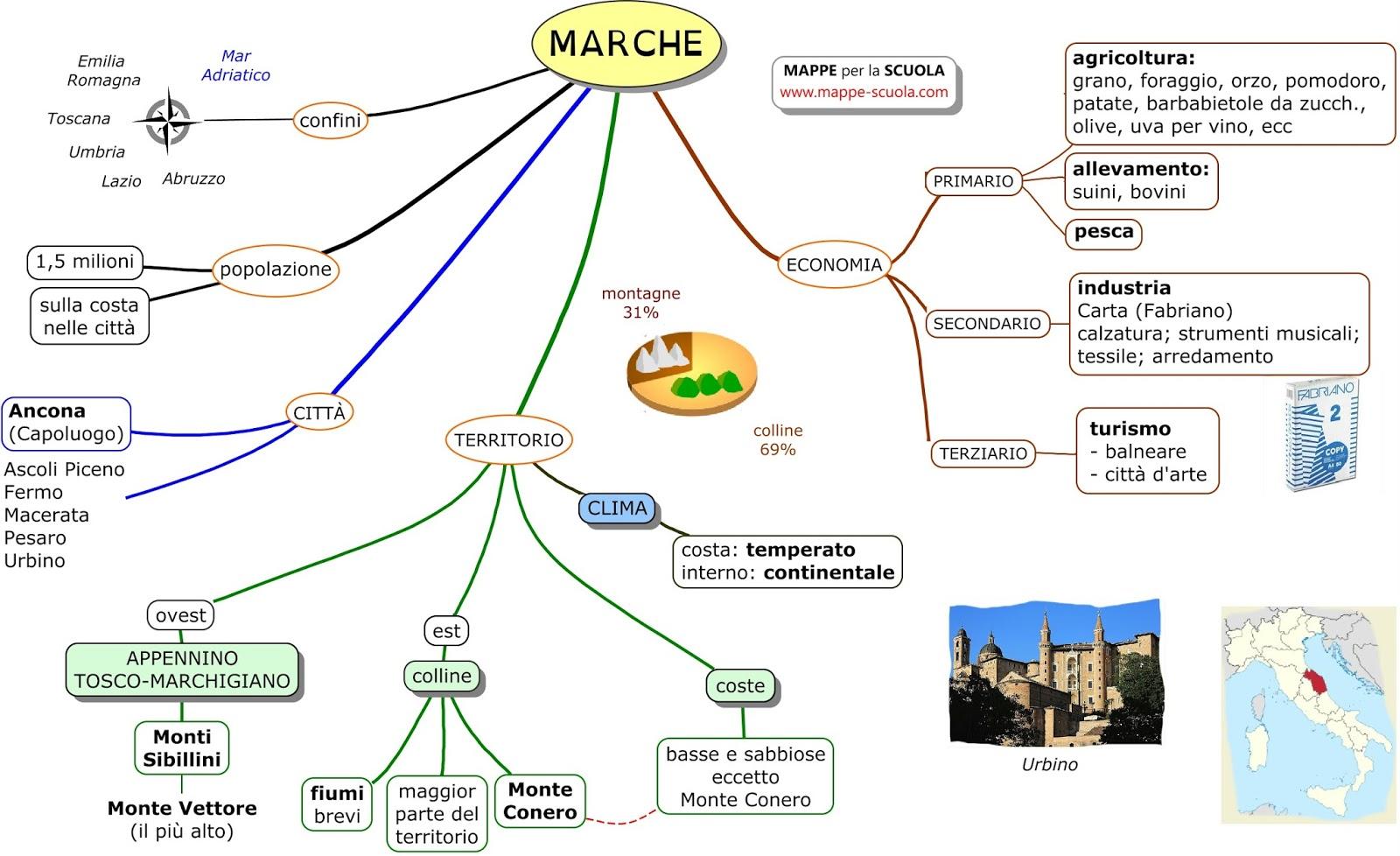 Cartina Italia Regioni E Capoluoghi.Mappe Delle Regioni Il Centro Italia Lessons Tes Teach