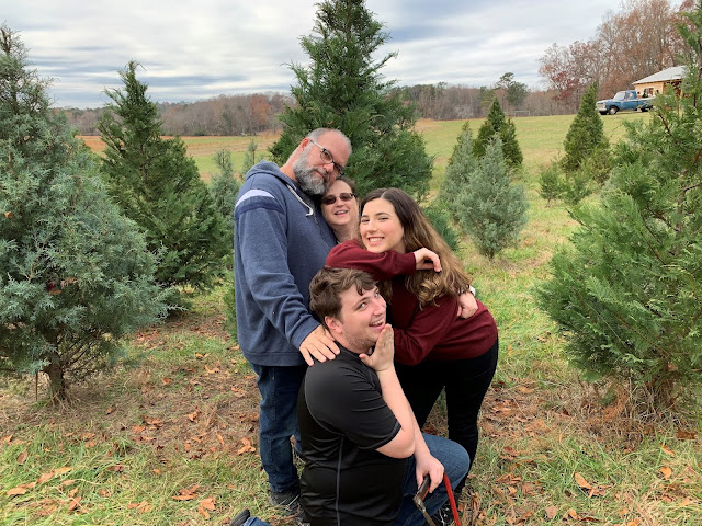 Christine Casey and her husband Sean (left), her son Sam (center), and daughter Dorey (right) in 2019. (Photo Credit: Courtesy of Christine Casey)