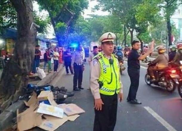 Polisi Tewas Nabrak Truk Pengangkut Sapi Kurban, Sopir Jadi Tersangka
