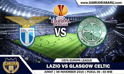 PREDIKSI SKOR BOLA JITU LAZIO VS GLASGOW CELTIC  08 NOVEMBER 2019