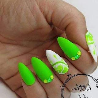 Bright Nail Designs