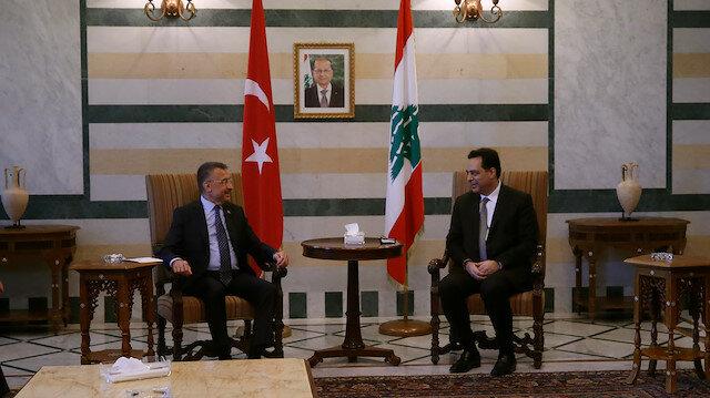 ترجمة تركيا بالعربي - نائب أردوغان يلتقي حسان دياب ونبيه بري في بيروت