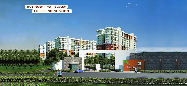 Advantages of Buying Flats in Prestige Ferns Residency
