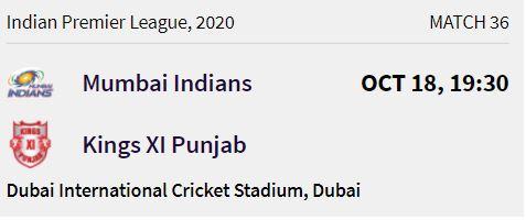 Mumbai Indians match 9 ipl 2020