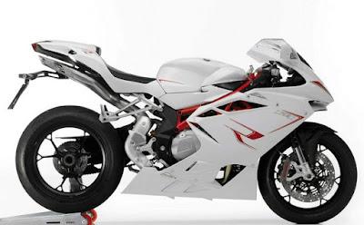 MV Agusta F4 RR white sport bike