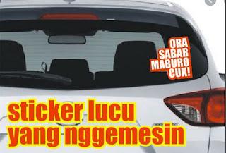 sticker cuuting lucu