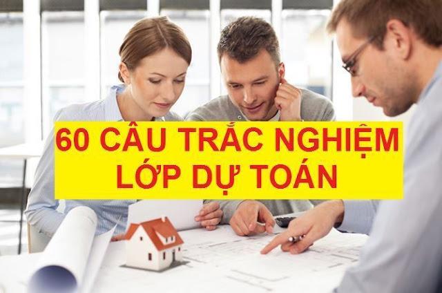 Bài thi trắc nghiệm lớp dự toán và định giá xây dựng | CLB Dự Toán DTC