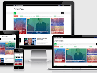 NewsPro - Responsive Blog and Magazine Blogger Theme