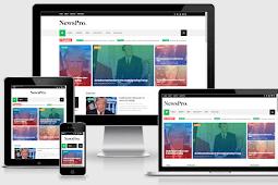 News Pro Responsive Blog and Magazine Blogger Theme Free Download
