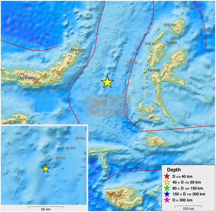 Innalillahi Gempa 7,1 M Guncang Sulut dan Malut, Potensi Tsunami