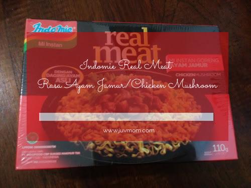Indomie Real Meat Rasa Ayam Jamur/Chicken Mushroom