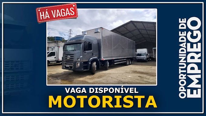 Sartori RH abre vagas para Motorista Truck