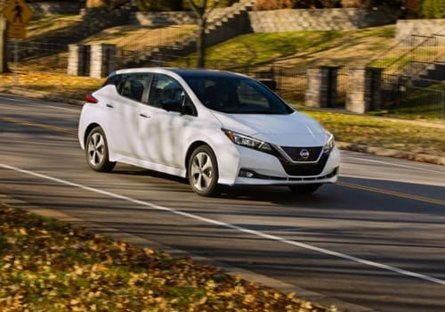 Nissan celebrates the launch of its Leaf