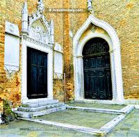 "Basilica of Santa Maria Gloriosa dei Frari Venice Copyright ""All rights reserved"" © By itravelinitaly.com travelers from Italy Baldassarri Giuseppe Visual Storytelling."