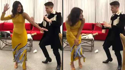 Priyanka Chopra sister in law share Priyanka and Nick Jonas Dance video