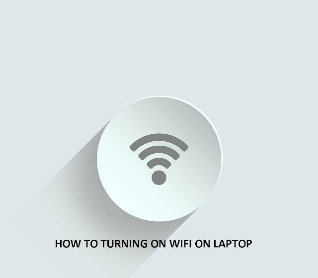 cara sambungkan wifi di laptop