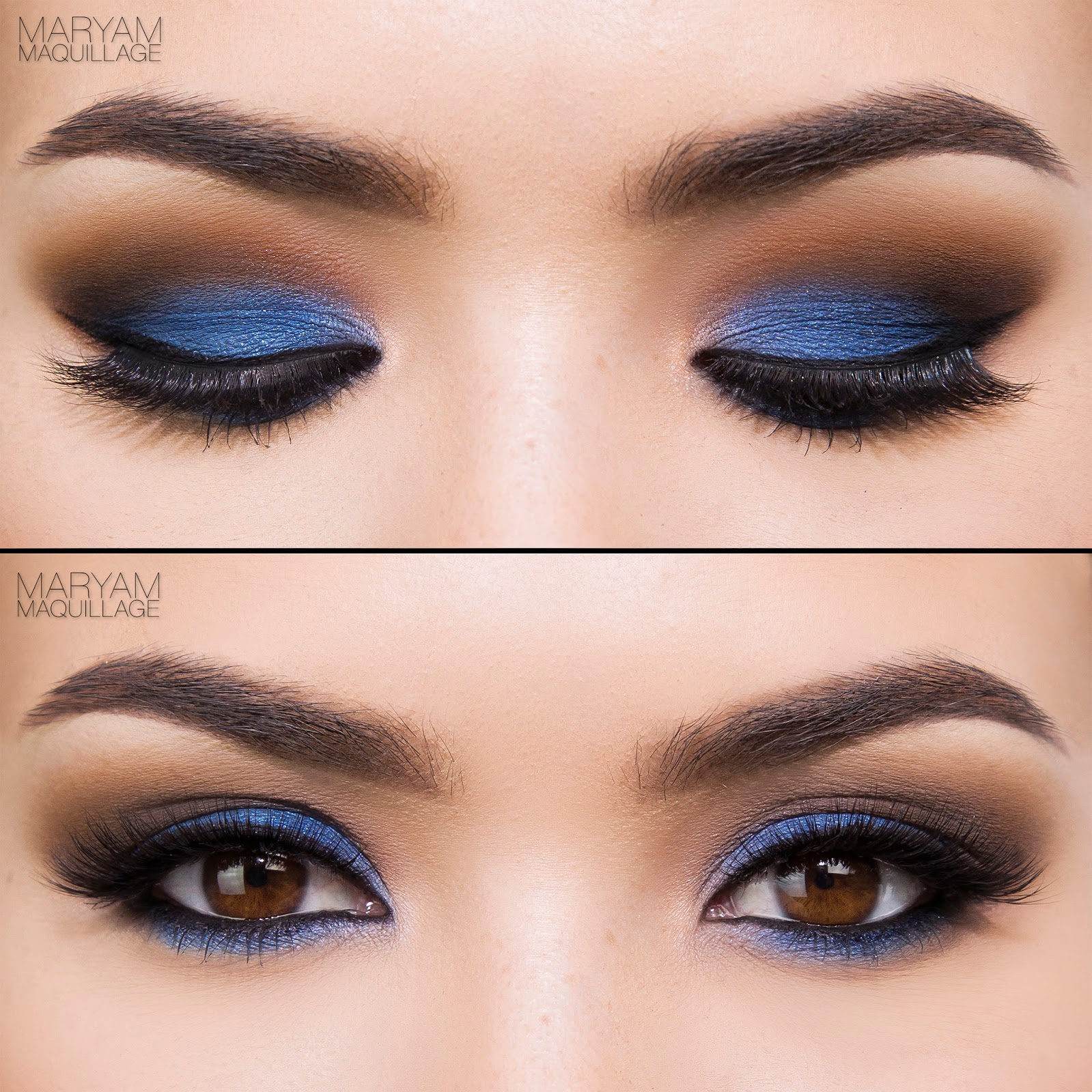 Maryam Maquillage: Pop of Color: 2 Makeup Looks + Tutorials