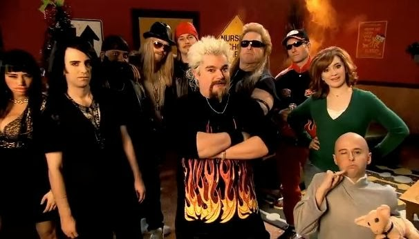 Snl Christmas Special.Food Network Gossip Watch The Snl Guy Fieri Christmas Special