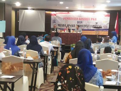 Pembinaan Kinerja PKB dan Musda IPeKB Provinsi Lampung Tahun 2018