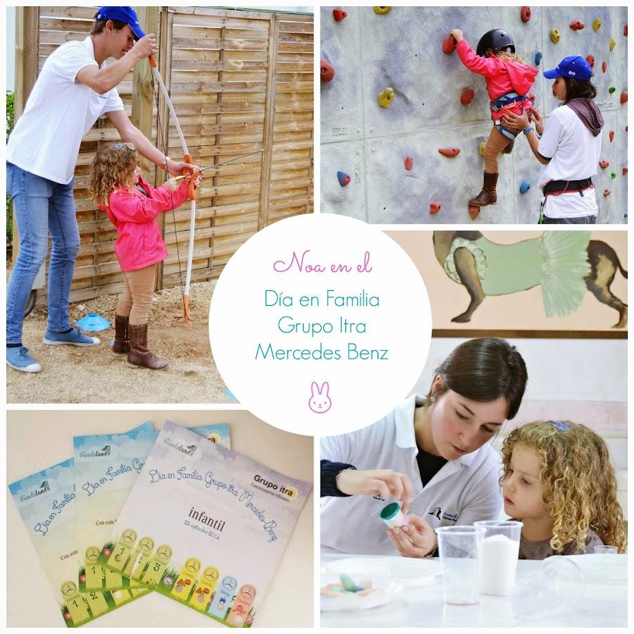 Dia en Familia organizado por Grupo Itra Mercedes Benz blog infantil Mama de Noa Fundaland