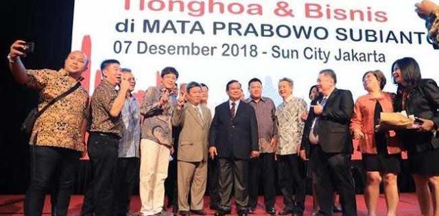 Pengusaha Tionghoa Dukung Prabowo-Sandi