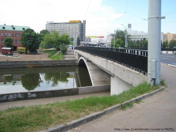 Мост через Свислочь