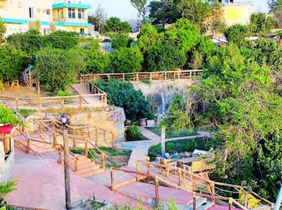 حديقة الجسر المعلق في بلجرشي الباحة