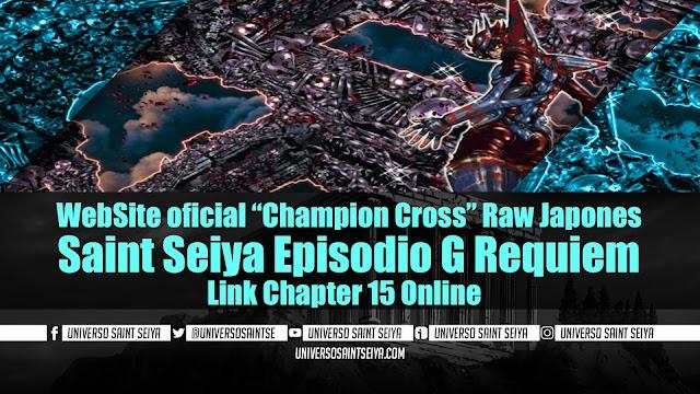 "Saint Seiya Episodio G Requiem – Capitulo 15 – WebSite oficial ""Champion Cross"" Raw Japones"