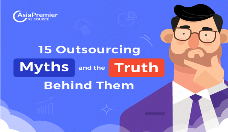 15 Outsourcing Myths and the Truth Behind Them #infographic