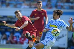 Hasil Pertandingan Serie A Italia :  SPAL vs AS Roma Skor Akhir 0-3