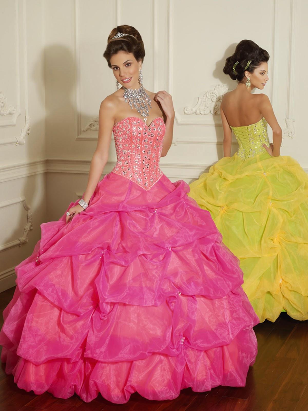 Lindos vestidos de 15 años para jovencitas | Moda 2014 | 101 ...