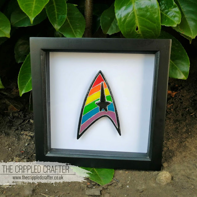 Star Trek Pride Delta by Sam Lewis AKA The Crippled Crafer | LGBT+