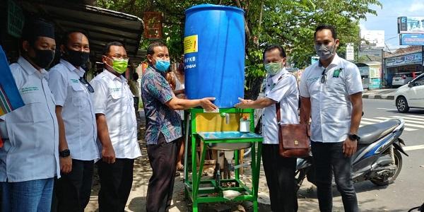 PKB Semarang Pasang Wastafel di 7 Pasar Tradisional Kota Semarang
