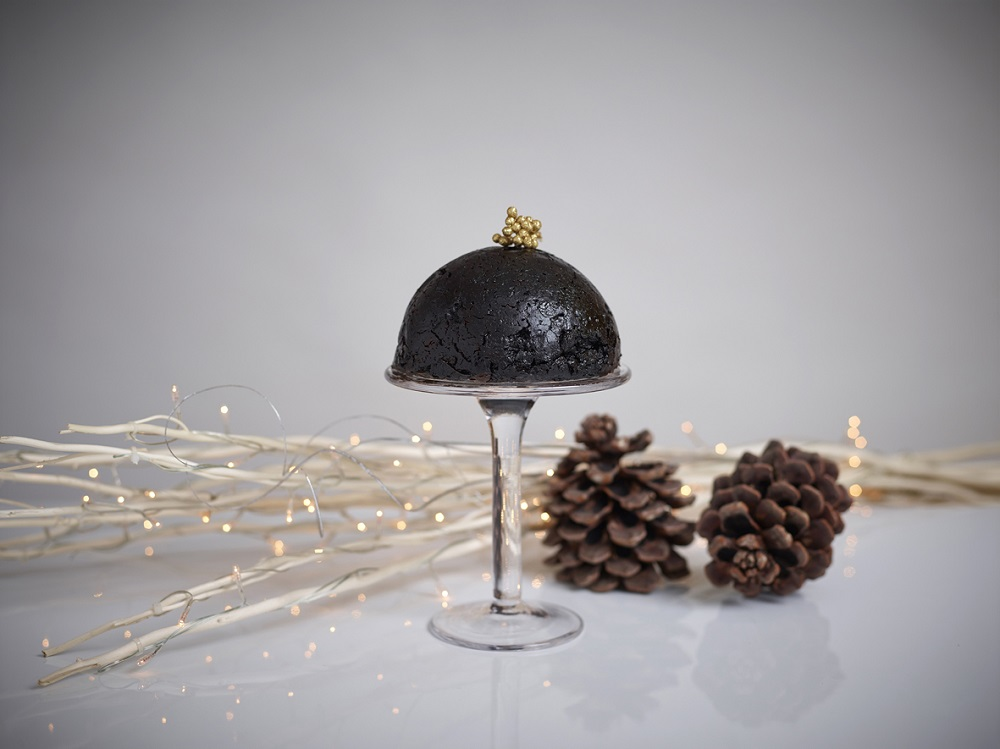 Gluten Free Chocolate Christmas Pudding