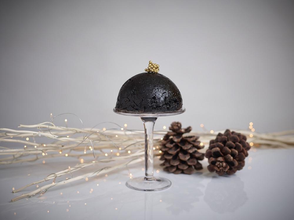 Gluten Free Chocolate Christmas Pudding