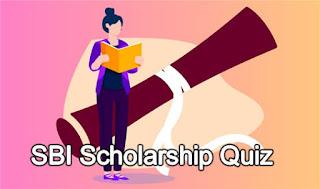 SBI Scholarship Quiz