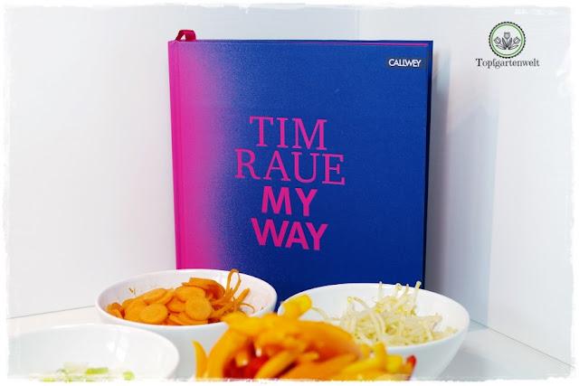 Gartenblog Topfgartenwelt Buchtipp Buchvorstellung Kochbuch: Tim Raue My Way - asiatische Haubenküche für zu Hause